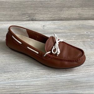 Cole Haan Grant leather driving or boat moccasin.